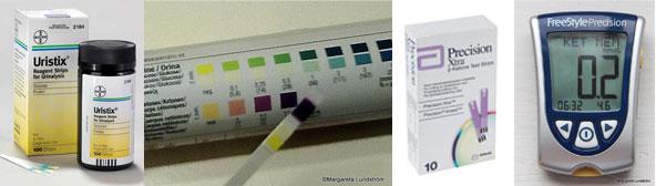 mäta ketoner i urin