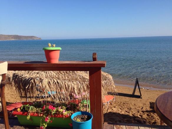 Aminas Beach Bar, Kato Stalos, Kreta