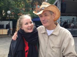 Min yngsta dotter och Doug Seegers