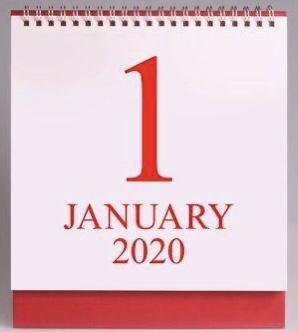 1  januari 2020