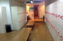 フィットネス会員用ロッカールーム
