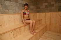 浴場内サウナ
