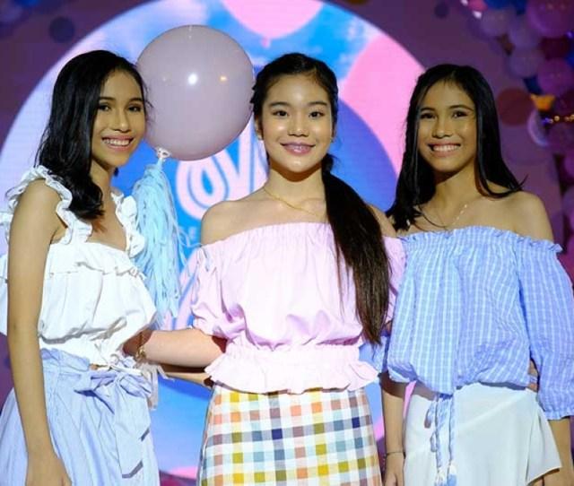 Kitty Duterte With Besties Brandie Jillian And Jullian Brielle Kabigting