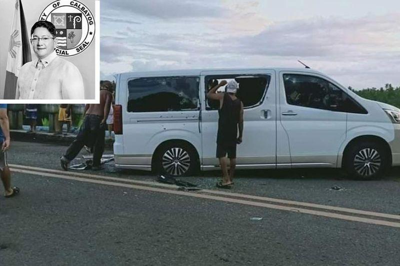 Calbayog City mayor shot dead - SUNSTAR