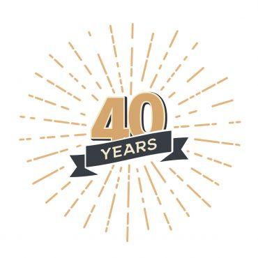 40 years aniiversary