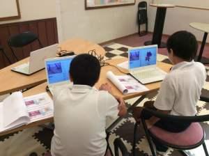 香川県高松市丸亀市こどもITプログラミング教室ならサンステップ!小学生中学生の習いごとsunstep_marugamefujiroom008
