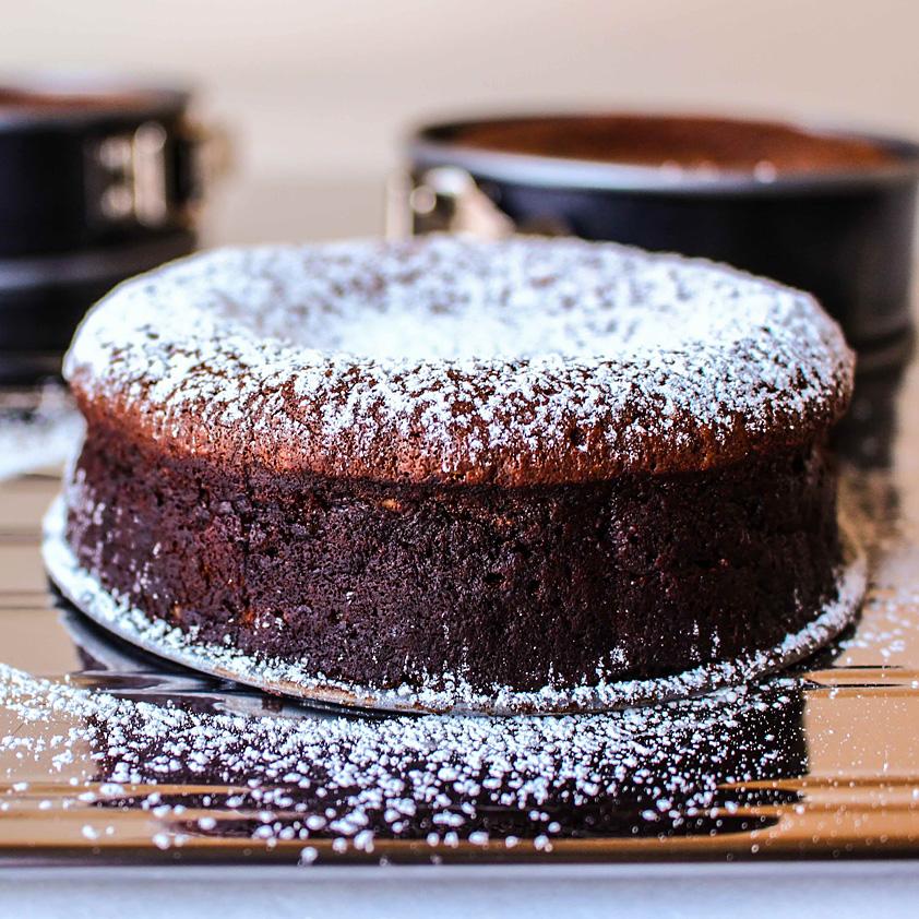 Flourless Chocolate Decadence Torte