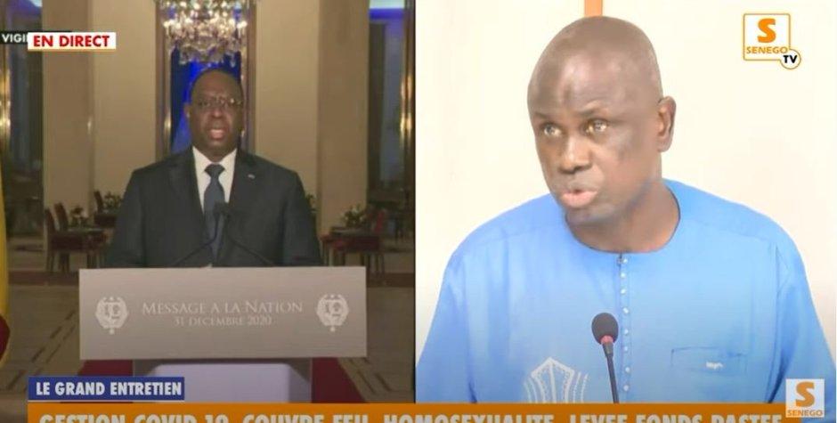 La phrase de Macky Sall qui choque Seydi Gassama (Senego Tv)ParThierno Malick Ndiaye 08/01/2021 à 23:33