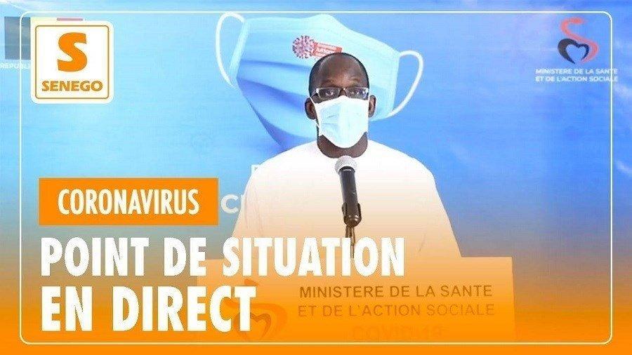 Suivez en direct, sur Senego-TV le point sur la situation du Covid-19 au Sénégal (Ministère Santé)ParKhalil Kamara 10/01/2021 à 9:57