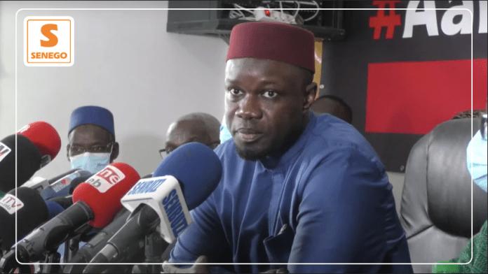 Déclaration de Ousmane Sonko: Revivez le direct sur Senego-TV…ParKhalil Kamara 25/02/2021 à 17:35