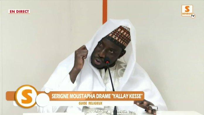 "Serigne Moustapha Dramé Yallay Kessé : ""Macky Sall na moytou su wathié niou…"" (Senego TV)ParMangoné KA 19/02/2021 à 22:06"