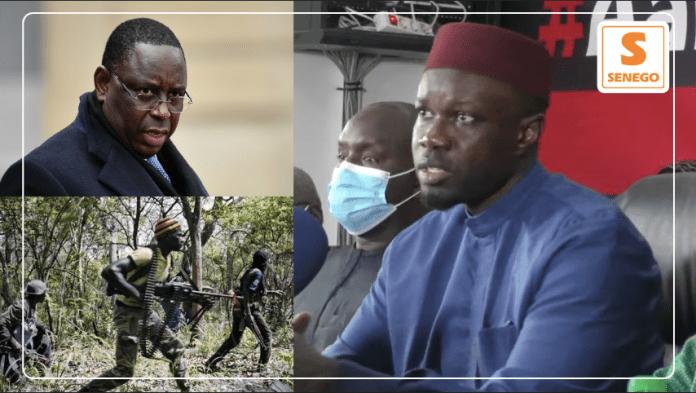"""Sonko : """"Je suis prêt à travailler avec Macky Sall sur le dossier de la Casamance"""" (Senego Tv)ParAnkou Sodjago 25/02/2021 à 20:53"""