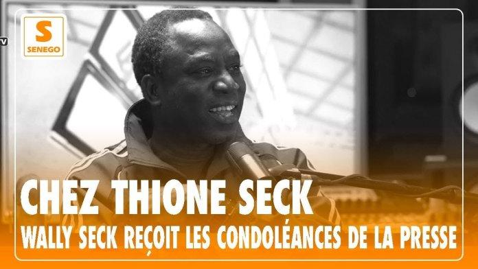 Chez Thione Seck : Wally Seck reçoit les condoléances de la presse (people) – (Senego-TV)ParCheikh Tidiane Kandé 24/03/2021 à 23:19