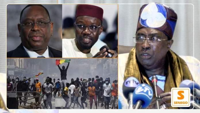 Manifs-Sonko : Le Grand Serigne de Dakar invite à ne pas jouer avec le feu…ParAntoine Sarr 21/03/2021 à 18:16