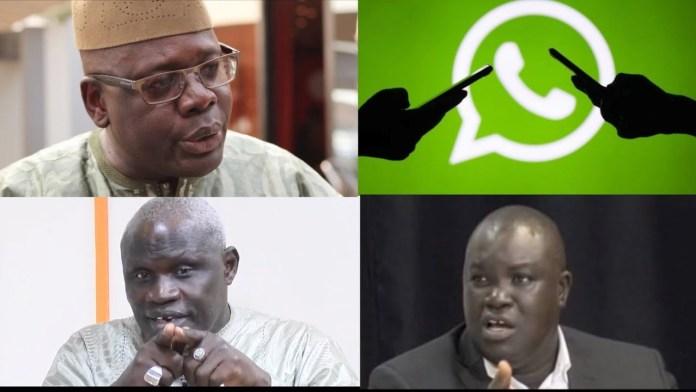 Groupe WhatsApp : Gaston dévoile un message fuité intigrant qui cite Youssou Ndour, Tanor Dieng…ParCheikh Tidiane Kandé 04/10/2021 à 23:00