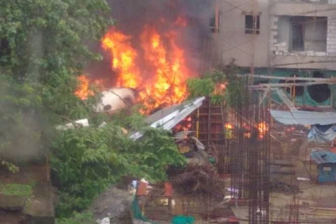 Mumbai plane crash: Chartered aircraft crashes in Ghatkopar, five dead; black box recovered