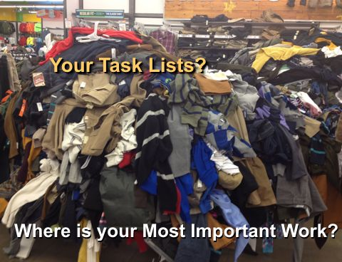 Your most important work task-lists business-success