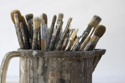 Paintbrushes artist create