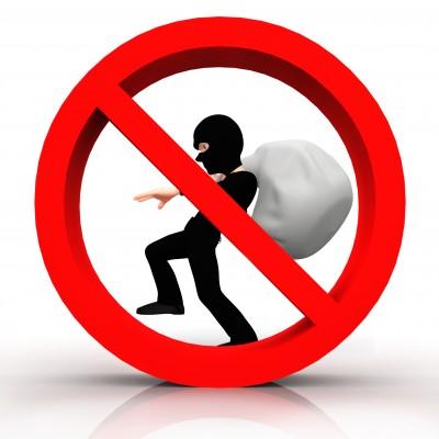 No theft stealing focus business success