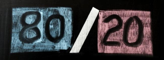 Pareto 80-20 Rule Business Ideal Clients