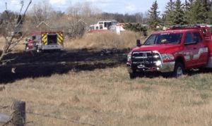 Grass Fire - Putting Out Fires