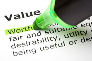Law of Value and Business Success