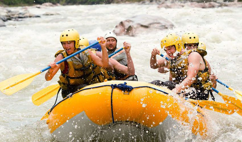 Win Survivor Alberta - Business Edition - Whitewater Rafting