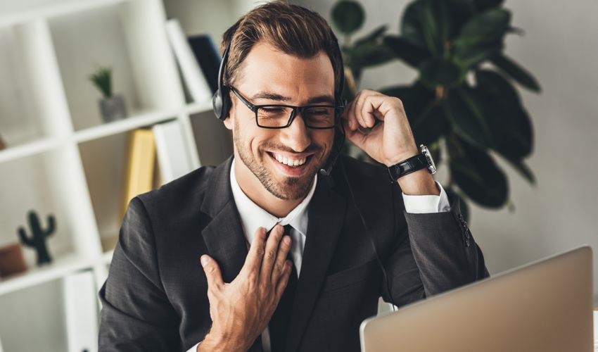 Prospecting is the Heart of Closing Problems - Man on Phone