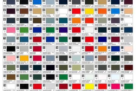 Tamiya Color Mixing Chart Coloringsite