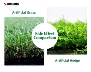 side-effect-comparison-artificialhedges-artificialgrass