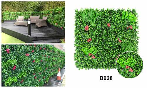 B028 artificial hedge wall