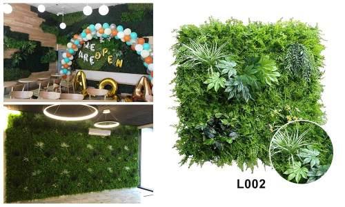 L002 artificial green wall
