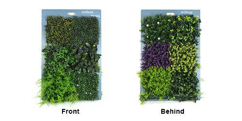 artificial plants display board