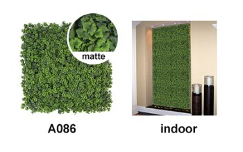 indoor scene of A086 artificial hedging