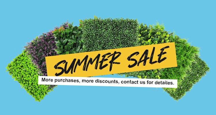 sunwing artificial plants summer sale