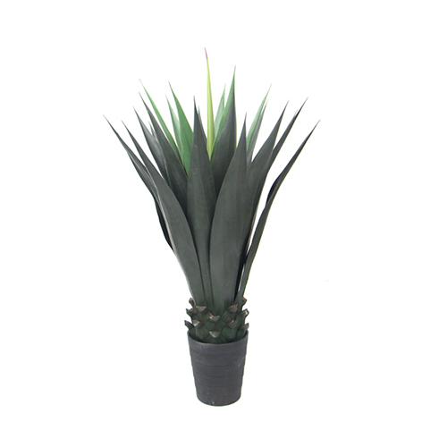Evergreen Fake Yucca Plants Can Bring Vitality for Offices