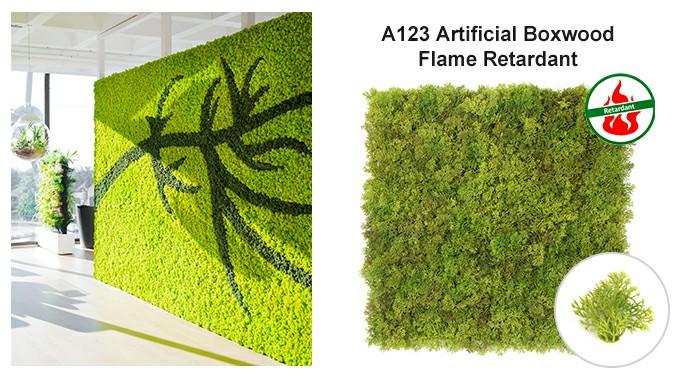 artificial boxwood hedgeA123&landscape