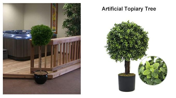indoor topiary tree&decor