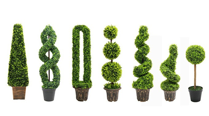 SUNWING Faux Topiary Trees Collection