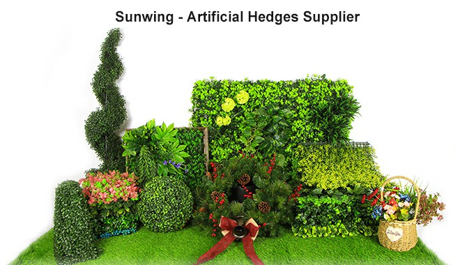 Sunwing Artificial Hedges Collection