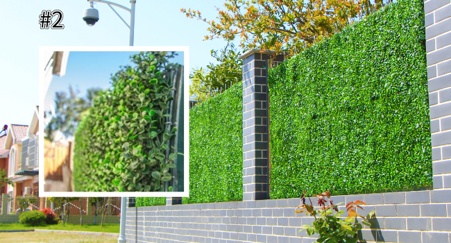 application for fence screen