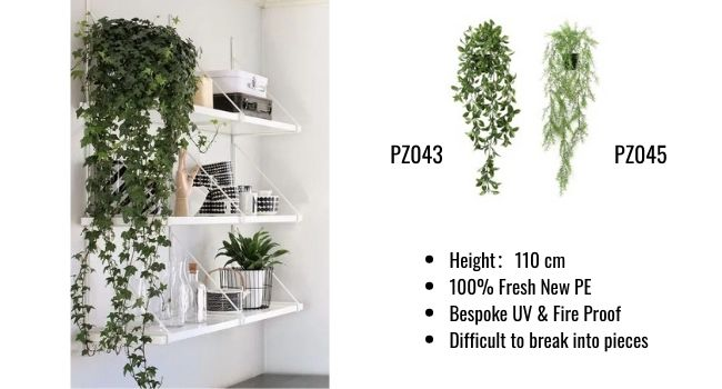 Artificial Potted Office Plants