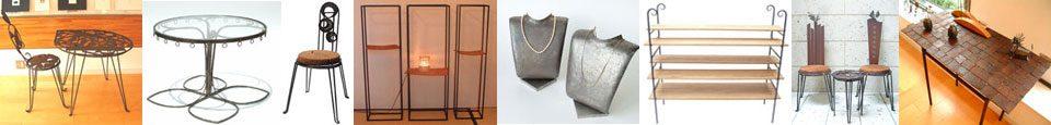 アートショップ・スパくん、家具・什器部門のイメージ画像