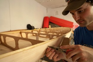 The first challenge - building a 14ft wooden SUP