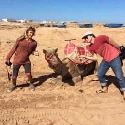 Sean and Giorgio - Morocco