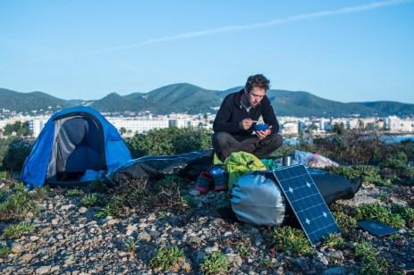 Breakfast on a deserted island