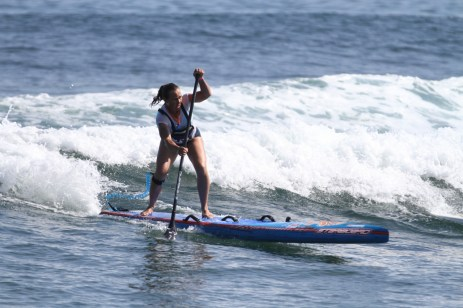 Marie Buchannan in action in Mexico at the 2015 ISA