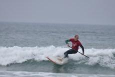 Matt Barker Smith in action at Watergate Bay