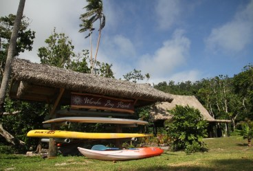 A slice of SUP paradise in Fiji