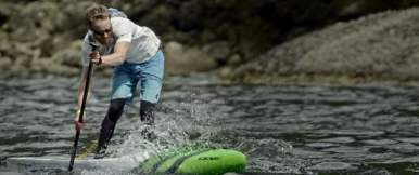 Inspirational SUP race video 'PUSH'